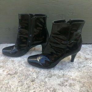Ann Taylor Shoes - Adorable Ann Taylor LOFT Black Booties Ankle 8.5
